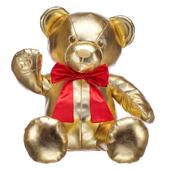 Online Exclusive Gift of Gold Bear Gift Set, , hi-res
