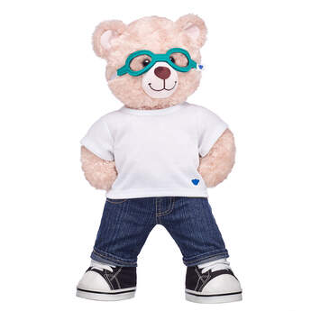 Online Exclusive Happy Hugs Teddy Medical Glasses Gift Set, , hi-res