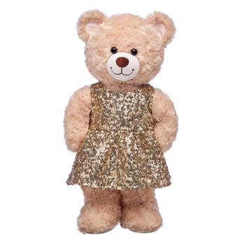 Gold Sequin Dress - Build-A-Bear Workshop®