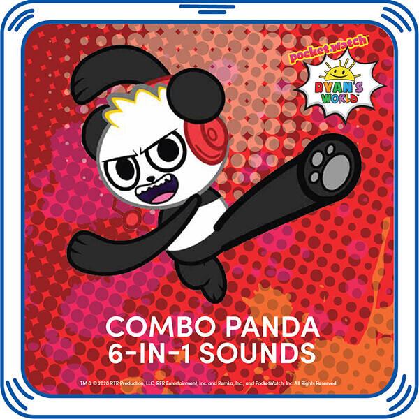 Combo Panda™ 6-in-1 Sounds - Build-A-Bear Workshop®