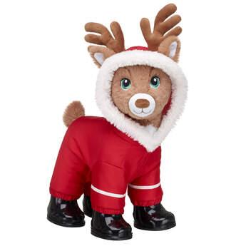Santa's Reindeer Red Snowsuit Gift Set, , hi-res