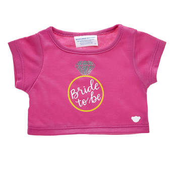 Online Exclusive Bride To Be T-Shirt - Build-A-Bear Workshop®