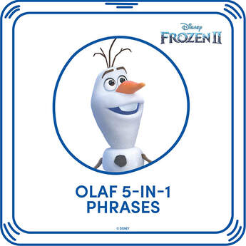 Disney Frozen 2 Olaf 5-in-1 Phrases - Build-A-Bear Workshop®