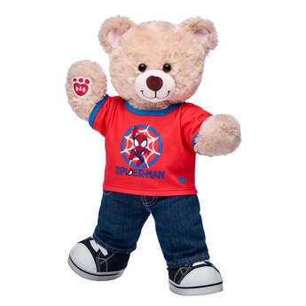 Happy Hugs Teddy Marvel Spider-Man Gift Set, , hi-res