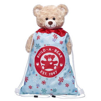 Snowflake Toy Bear Carrier - Build-A-Bear Workshop®