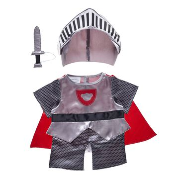 Give big bear hugs to your Knight in Shining Armour by dressing a furry friend in this adorable three-piece costume! With a plush helmet and sword included, this cute costume makes for a Valentine's Day gift that speaks from the heart.