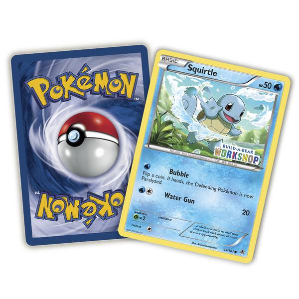 Build-A-Bear Workshop Exclusive Pokémon Squirtle TCG Card - Build-A-Bear Workshop®