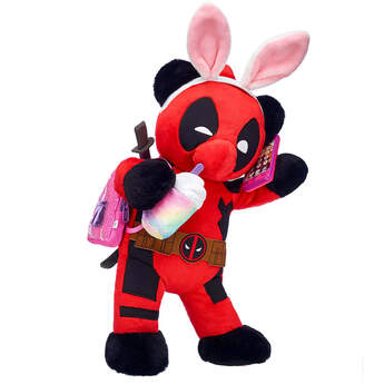 Online Exclusive Build-A-Bear as Deadpool Bunny Ears Gift Set, , hi-res
