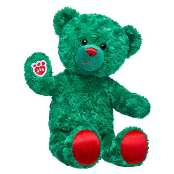 Online Exclusive Evergreen Teddy - Build-A-Bear Workshop®