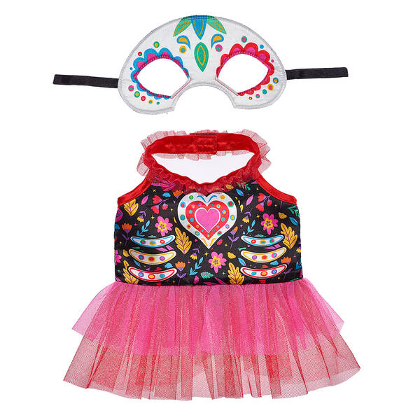 Online Exclusive Day of the Dead Dress - Build-A-Bear Workshop®