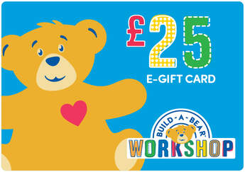 £25 E-Gift Card - Build-A-Bear Workshop®