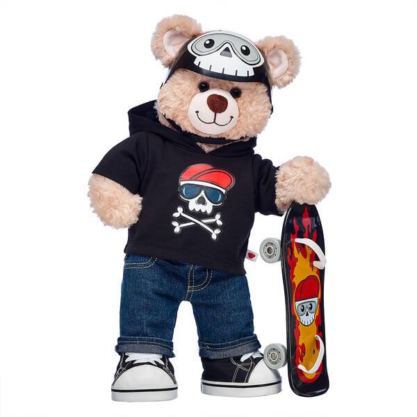 Happy Hugs Teddy Skateboarder Gift Set, , hi-res
