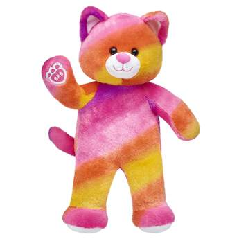 Go on endless adventures with Sunset Kitty! Find stuffed animals, clothing & accessories for any occasion at Build-A-Bear.