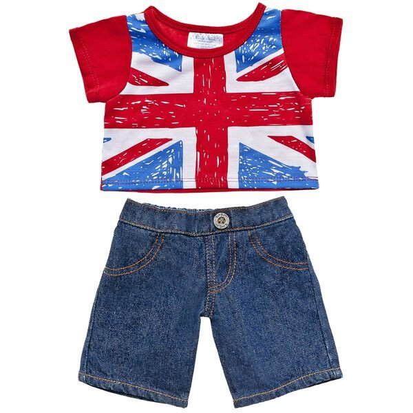 Union Jack Tee & Jeans 2pc. Set, , hi-res