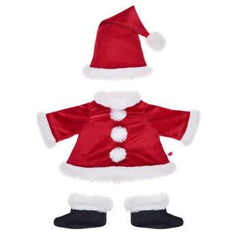 Online Exclusive The Grinch Santa Suit 3 pc. - Build-A-Bear Workshop®