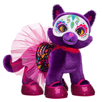 Online Exclusive Purple Moon Kitty Day of the Dead Gift Set, , hi-res