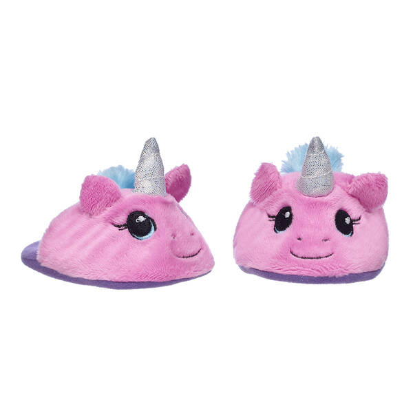 Pink Unicorn Slippers - Build-A-Bear Workshop®