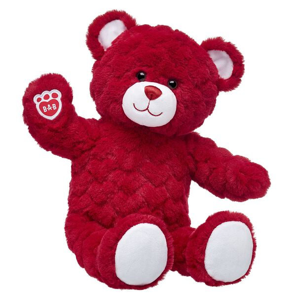 The way to their heart is with Red Hot Red Hearts Bear!  Find stuffed animals, clothing & accessories for any occasion at Build-A-Bear.