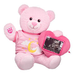 Online Exclusive Pink Baby Bear Picture Frame Gift Set, , hi-res