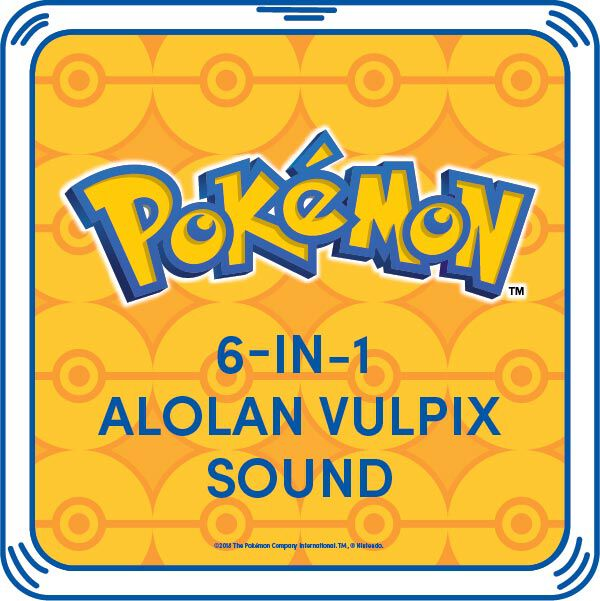 6-in-1 Alolan Vulpix Sound, , hi-res