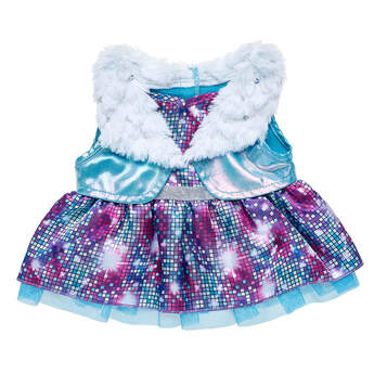 Honey Girls Fur 2-Fer Dress - Build-A-Bear Workshop®