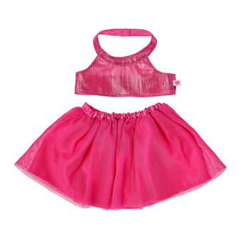 Online Exclusive Pink Dress 2 pc. - Build-A-Bear Workshop®