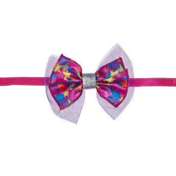 Honey Girls Colourful Stars Bow Headband, , hi-res
