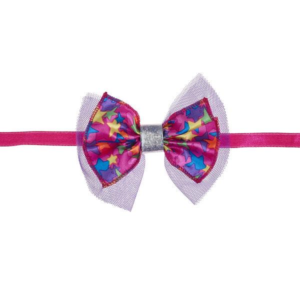 Honey Girls Colourful Stars Bow Headband, , hi-res