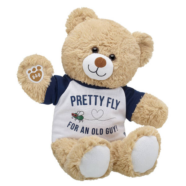Online Exclusive Cuddly Brown Bear Pretty Fly for an Old Guy Gift Set, , hi-res