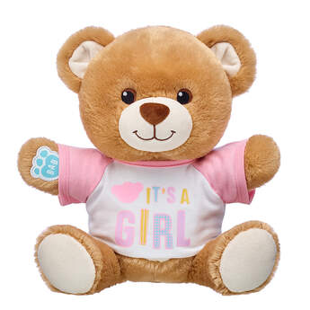 Online Exclusive Little Cub Hugs Teddy Girl Gift Set, , hi-res