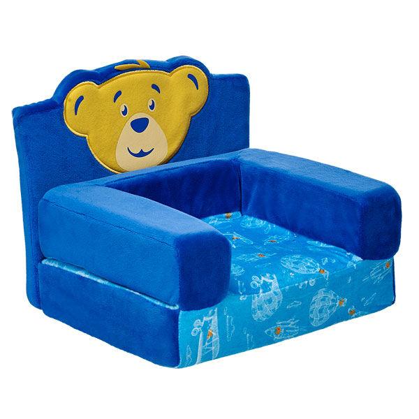 Charming Bear Head Chair Bed, , Hi Res