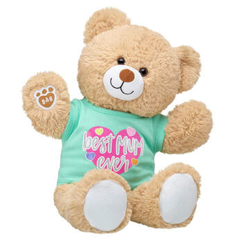 Online Exclusive Cuddly Brown Bear Mother's Day Gift Set, , hi-res