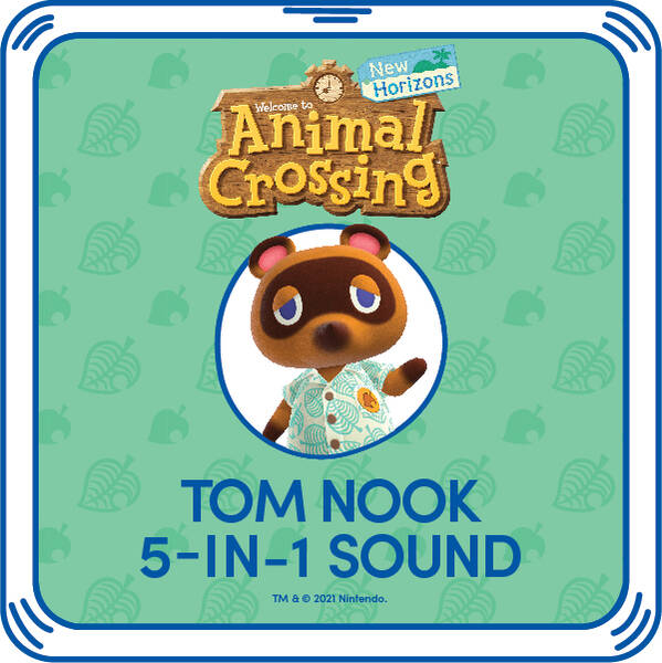 Animal Crossing™: New Horizons Tom Nook Phrases - Build-A-Bear Workshop®