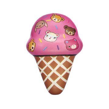 Have scoops of fun with this cute kawaii ice cream cone squishy! The Kabu pals love a sweet treat - and this ice cream squishy makes a sweet addition to your kawaii collection! Shop online or in store at Build-A-Bear Workshop!