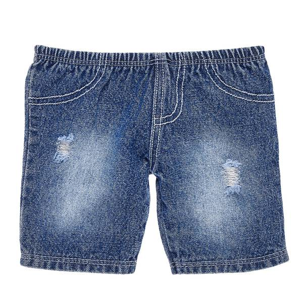Your furry friend can make a fashion statement by adding these super cool denim trousers to the party! With a fashionably distressed look, these blue jeans pair perfectly with a wide variety of outfits and look good on any furry friend in your collection.