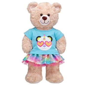 Rainbow Pandacorn Outfit - Build-A-Bear Workshop®
