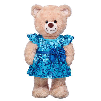 Sparkly Blue Christmas Dress - Build-A-Bear Workshop®