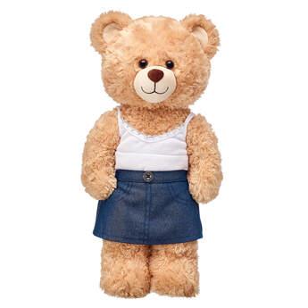 Sparkly Denim Skirt - Build-A-Bear Workshop®