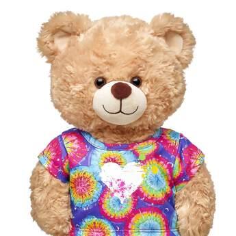 Tie-Dye Heart T-Shirt - Build-A-Bear Workshop®