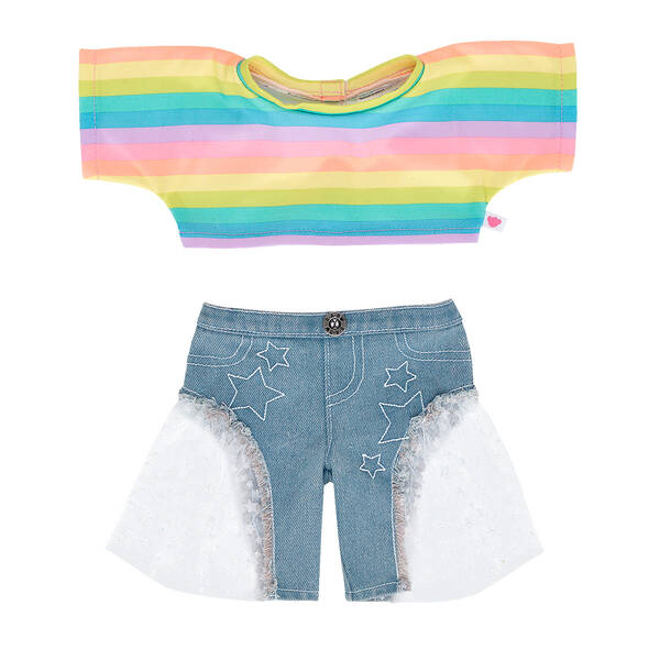 WeWearCute™ Emma Outfit 2 pc. - Build-A-Bear Workshop®