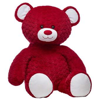 Jumbo Red Hot Red Hearts Bear - Build-A-Bear Workshop®