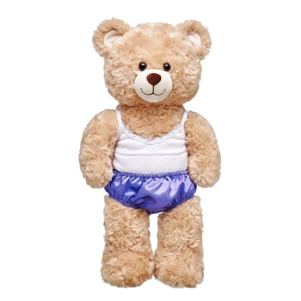 Purple Satin Panties - Build-A-Bear Workshop®