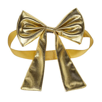 Online Exclusive Gold Gifting Bow - Build-A-Bear Workshop®