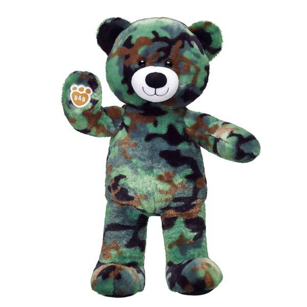 Camo Bear, , hi-res
