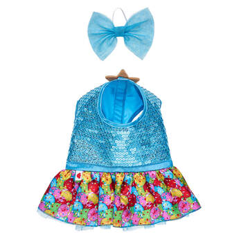 Ornament Dress & Bow Set 2 pc. - Build-A-Bear Workshop®