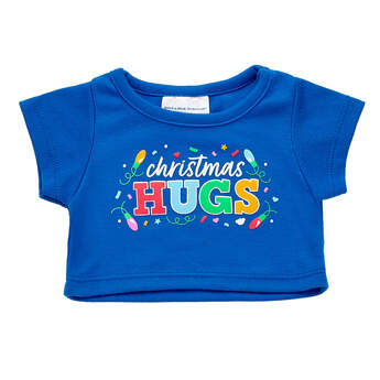Online Exclusive Christmas Hugs T-Shirt - Build-A-Bear Workshop®