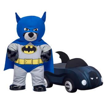 Classic 80th Anniversary Batman™ Bear & Batmobile™ Gift Set, , hi-res