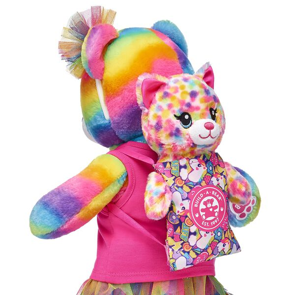 Build-A-Bear Buddies™ Mini Rainbow Backpack, , hi-res