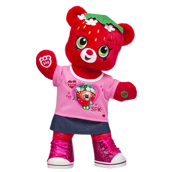 Strawberry Kiss Bear Gift Set, , hi-res