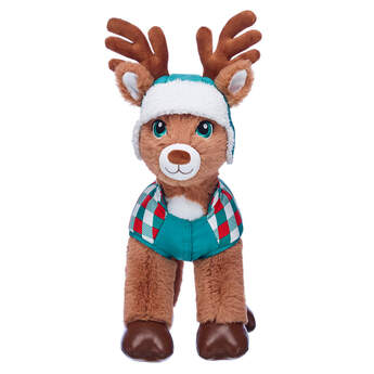 Reindeer Puffer Coat & Hat Set 2 pc. - Build-A-Bear Workshop®
